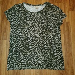 Philosopy Cheetah print philosophy t shirt